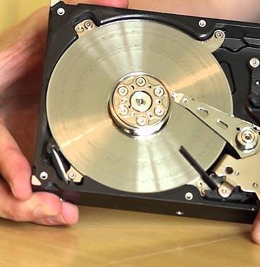 Réparation d'un disque dur
