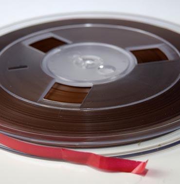 Numérisation bande magnétique audio reel to reel