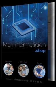 Téléchargez notre plaquette 2019 / Mon informaticien .shop : tarifs et prestations détaillés